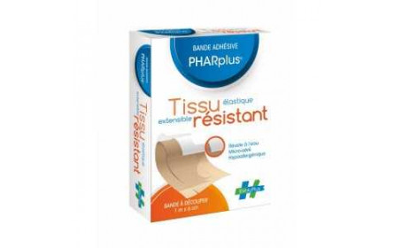 Evoluplus Pharplus Resistant Fabric Plaster Strip 1 m x 6cm