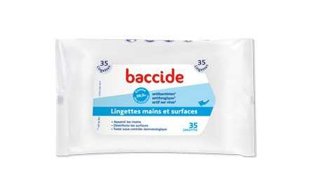 Cooper baccide wipes (hands & surfaces) x 35