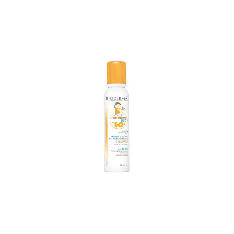 Mousse Solaire SPF 50 Photoderm Kid 150ml Bioderma