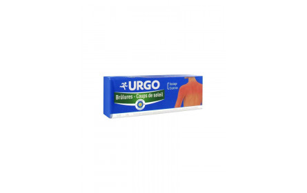 Urgo burns & sunburn restorative emulsion 100g