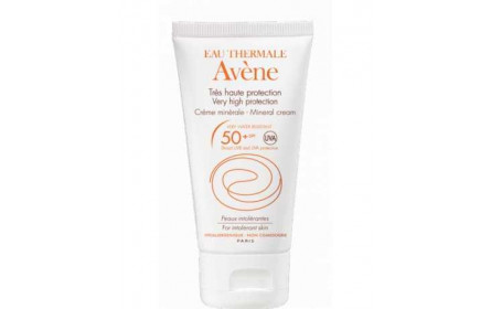 Avene High Protection Mineral Cream SPF 50 +  50ml