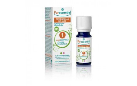 Puressentiel organic java citronella essential oil 10ml