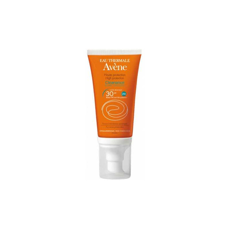 Cleanance Solaire SPF 30 - 50ml Avène