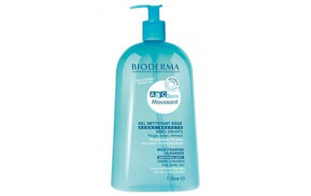 Bioderma Gel Moussant Doux ABC Derm 1l