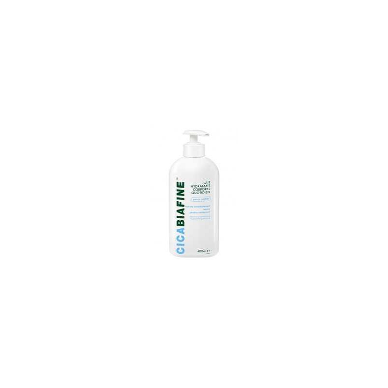 Lait Hydratant Corporel Quotidien 400ml CicaBiafine