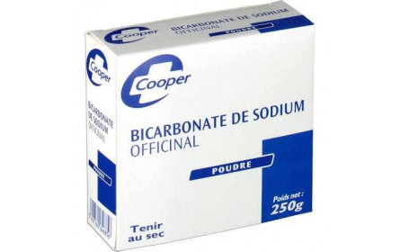 Cooper Bicarbonate de Sodium Officinal Poudre 250g