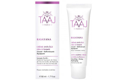 Taaj Rasayana Anti Aging wrinkle/ firming cream 50ml