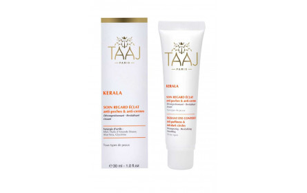 Taaj Kerala radiant eye contour gel 30ml