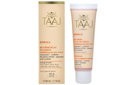 BB crema azafrán natural Kerala 50ml Subramaniam r brillo
