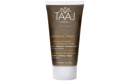 Taaj Abhyanga sugar crystals & oils scrub 150ml