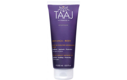 Taaj Abhyanga gourmet blackcurrant shower gel 200ml
