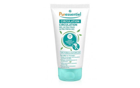 Pureesntiel ultra fresh circulation gel with 17  essential oils 125 ml