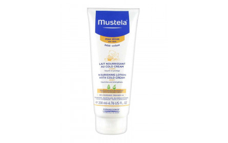 Mustela baby cold cream nutri protector body lotion 200ml