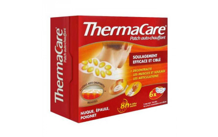 Thermacare auto- heating patch neck shoulder wrist x 6