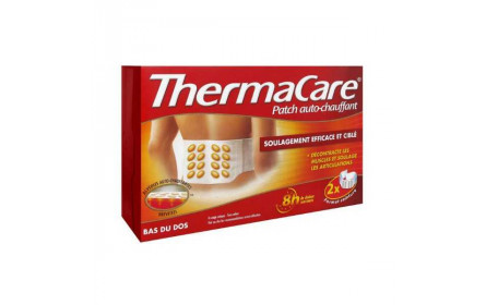 Thermocare Auto-Heating Pad (lower back) x 2 Pack