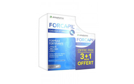 Forcapil capelli e unghie 180 softgels softgels 60 Arkopharma