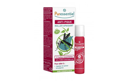 Puressentiel soothing anti-insect bite Roll-on with 11 essential oils 5ml