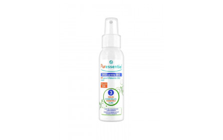 Puressentiel certified organic deo spray with 3 essential oils 50 ml