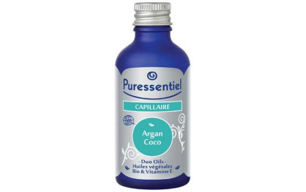 Puressentiel Duo Oils Capillaire Argan Coco 50ml