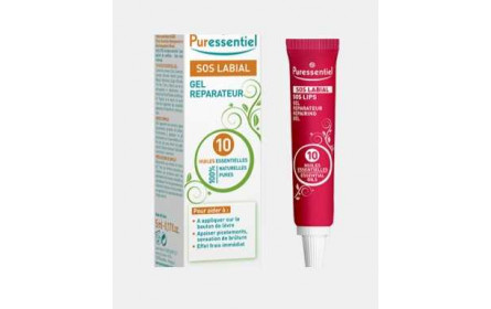 Puressentiel SOS LABIAL Gel with 10 essential oils 5 ml