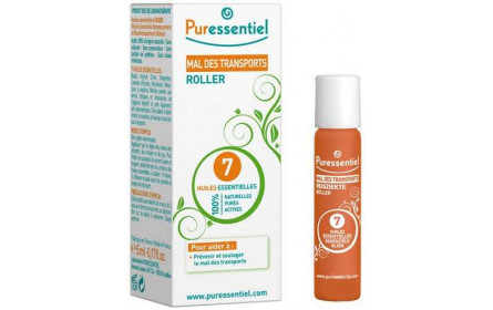 Puressentiel Roll-on Mareo por Movimiento con 7 Aceites Esenciales 5ml