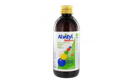 Jarabe de ALVITYL defensas 240ml Urgo