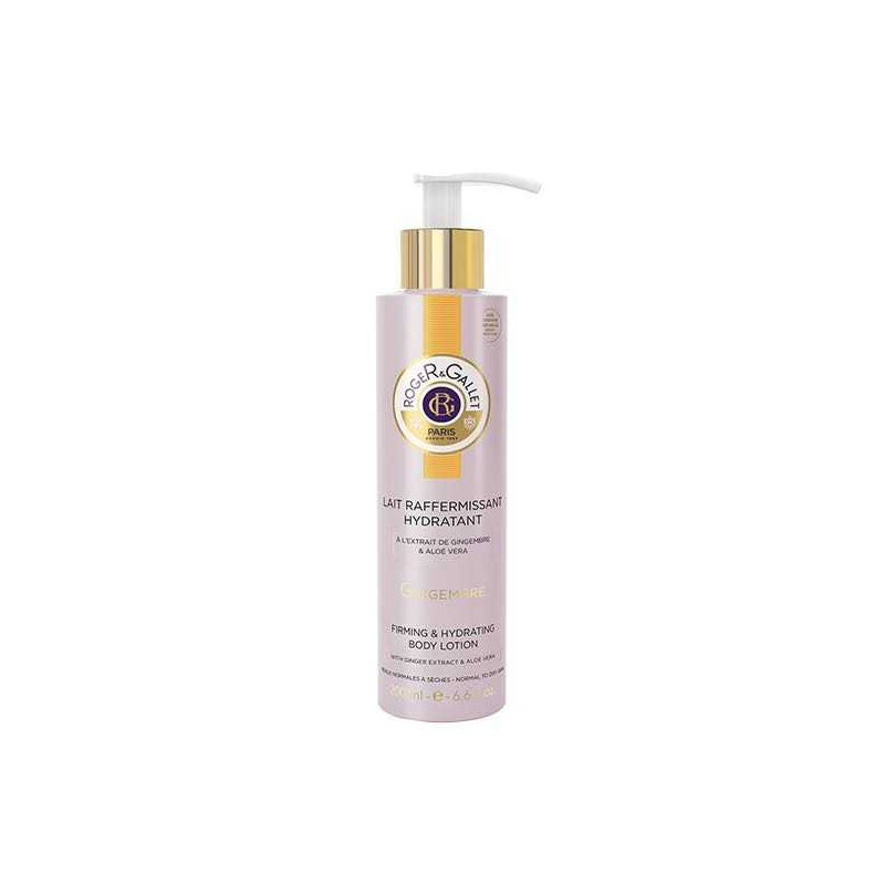 Lait Sorbet Raffermissant Gingembre 200ml Roger & Gallet