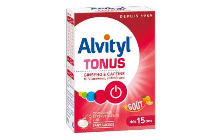 Urgo Alvityl tonus effervescent tablets orange flavour x 20