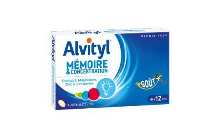 Urgo Alvityl memory and concentration 30 capsules