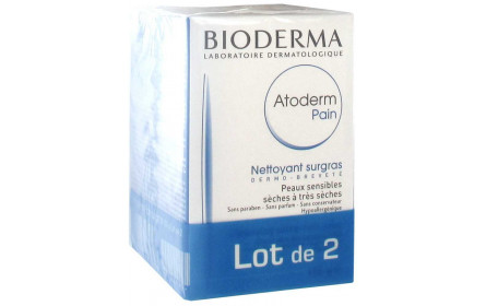 Bioderma Atoderm Ultra-rich Cleansing Bar offer of 2 x 150 g