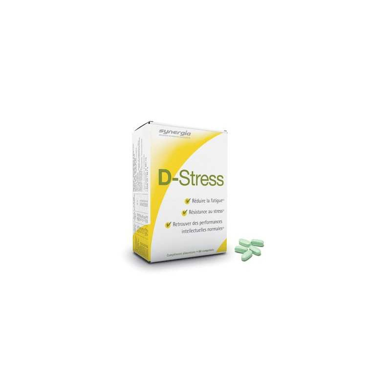 D Stress 80 Comprimes Synergia