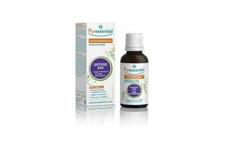 Puressentiel zen essential oil air diffuser 30ml
