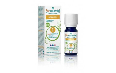 Puressentiel organic geranium essential oil 5ml