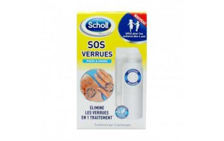 Scholl SOS warts (hands & feet) 80ml
