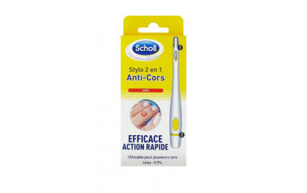 Stylo 2 en 1 Anti-Cors 1ml Scholl