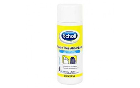 Scholl very absorbant powder 75g