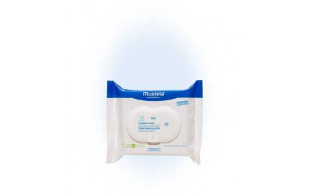 Mustela baby face wipes x 25
