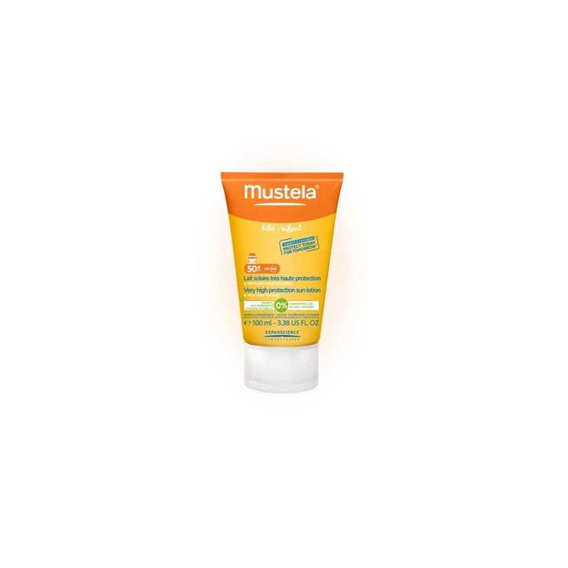 Lait Solaire SPF50+ 100ml Mustela