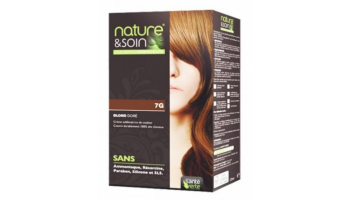 Coloration Blond Doré 7G...