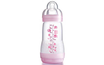 Biberon Anti Colique Rose 260ml BABY MAM
