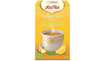 Yogi Tea Gingembre Citron...