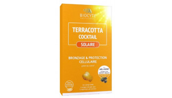 Terracotta cocktail solaire...