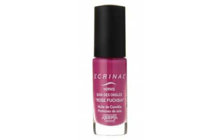 Asepta Ecrinal Nail Varnish Care fushia rose 6 ml