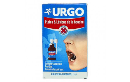 Urgo wounds & lesions buccal spray 15 ml