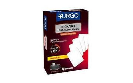 Urgo heating belt refills x 4