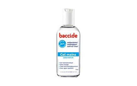 Gel Mains Sans Parfum 75ml Baccide