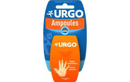 Urgo blister plasters small x 6