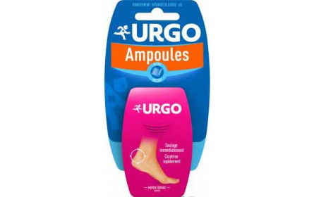 Urgo ultra discreet blister plasters medium x 6