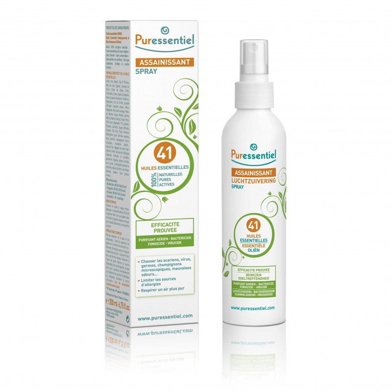 Sanitizing Spray oils Essentielles 200 ml Puressentiel 41