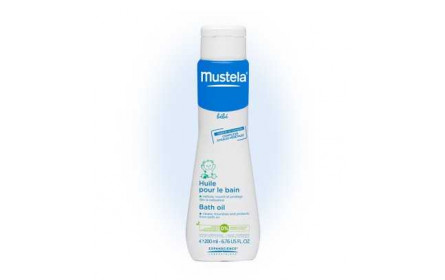 Mustela bath oil 200 ml